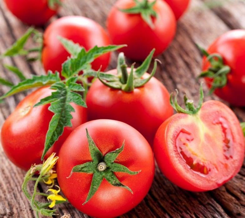 Внешний вид томата сорта Санька