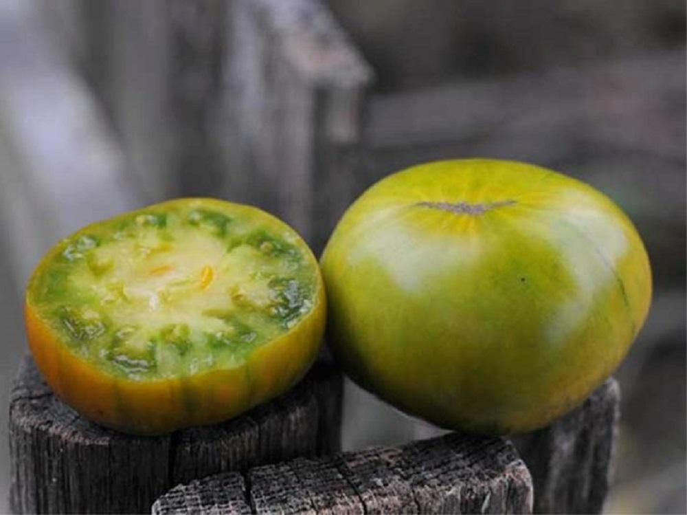 Плоды томата «Малахитовая шкатулка»